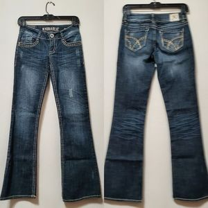 Hydraulic Juniors Distressed Jeans
